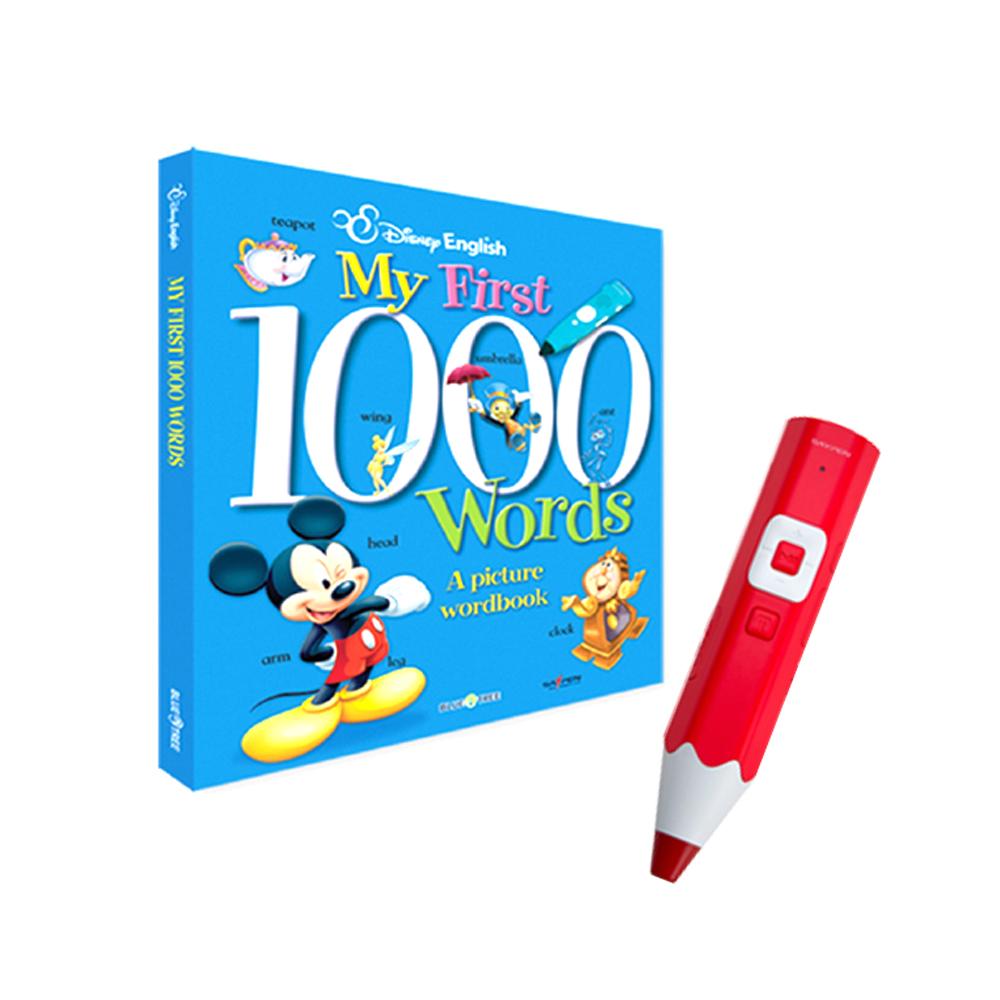 디즈니 1000 단어 사전 + 레인보우 세이펜 레드 32G, 블루앤트리