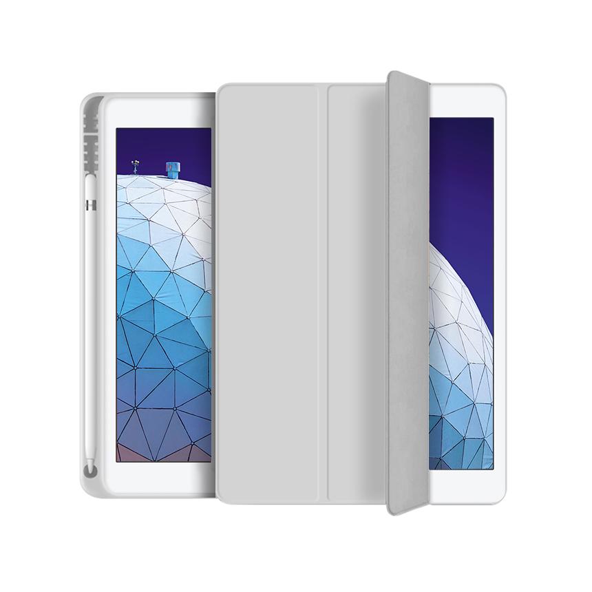 애드온 TPU 펜슬 홀더 태블릿 케이스, 그레이