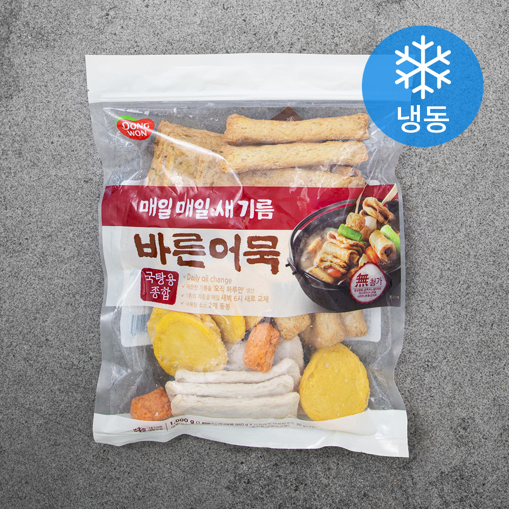 동원 바른어묵 (냉동), 1kg, 1개