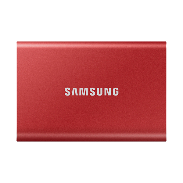 삼성전자 외장SSD T7, 메탈릭 레드, 500GB