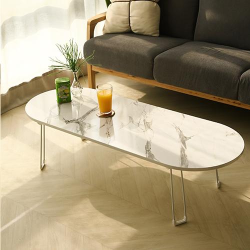 스토리퍼니쳐 스노우보드 테이블 LPM 대형, 화이트마블