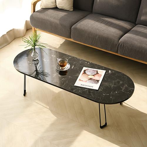 스토리퍼니쳐 스노우보드 테이블 LPM 대형, 블랙마블