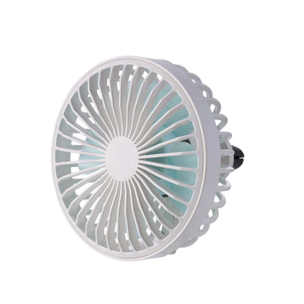 애니클리어 차량용 미니 LED 선풍기, PDB-ACF10(화이트)