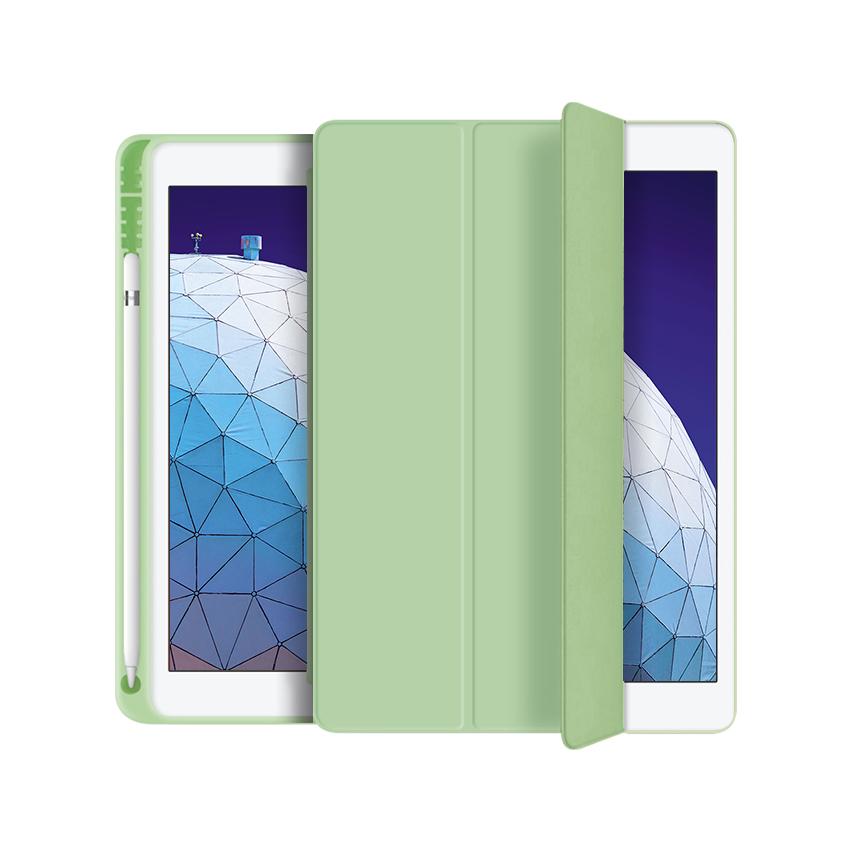 애드온 TPU 펜슬 홀더 태블릿 케이스, 그린티