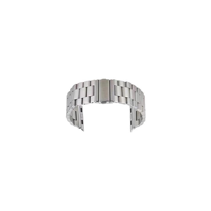 비쉐르 애플워치 3/4/5 엑설런트 메탈 밴드 (38/40mm 호환 가능), 실버, 1개