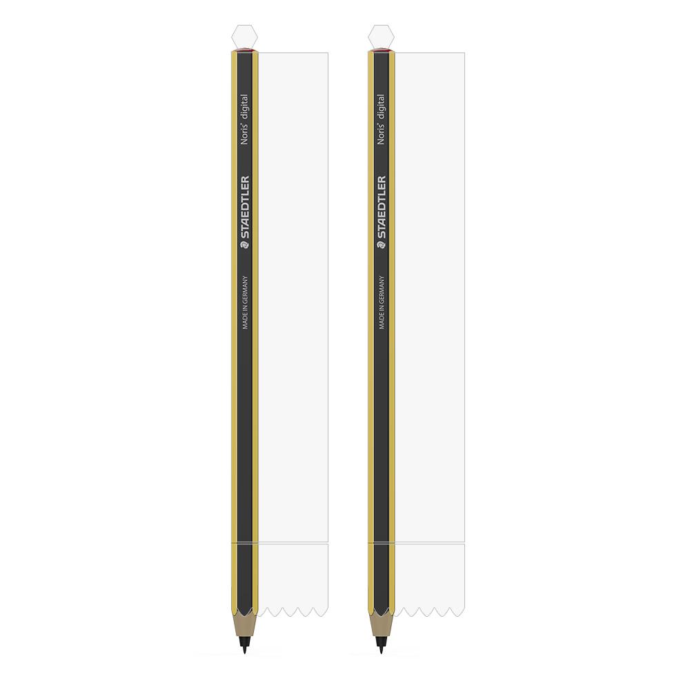 랩씨 스테들러 노리스 디지털펜 이지스 실드 필름 LABC-398 2p 세트, 단일색상, 1세트