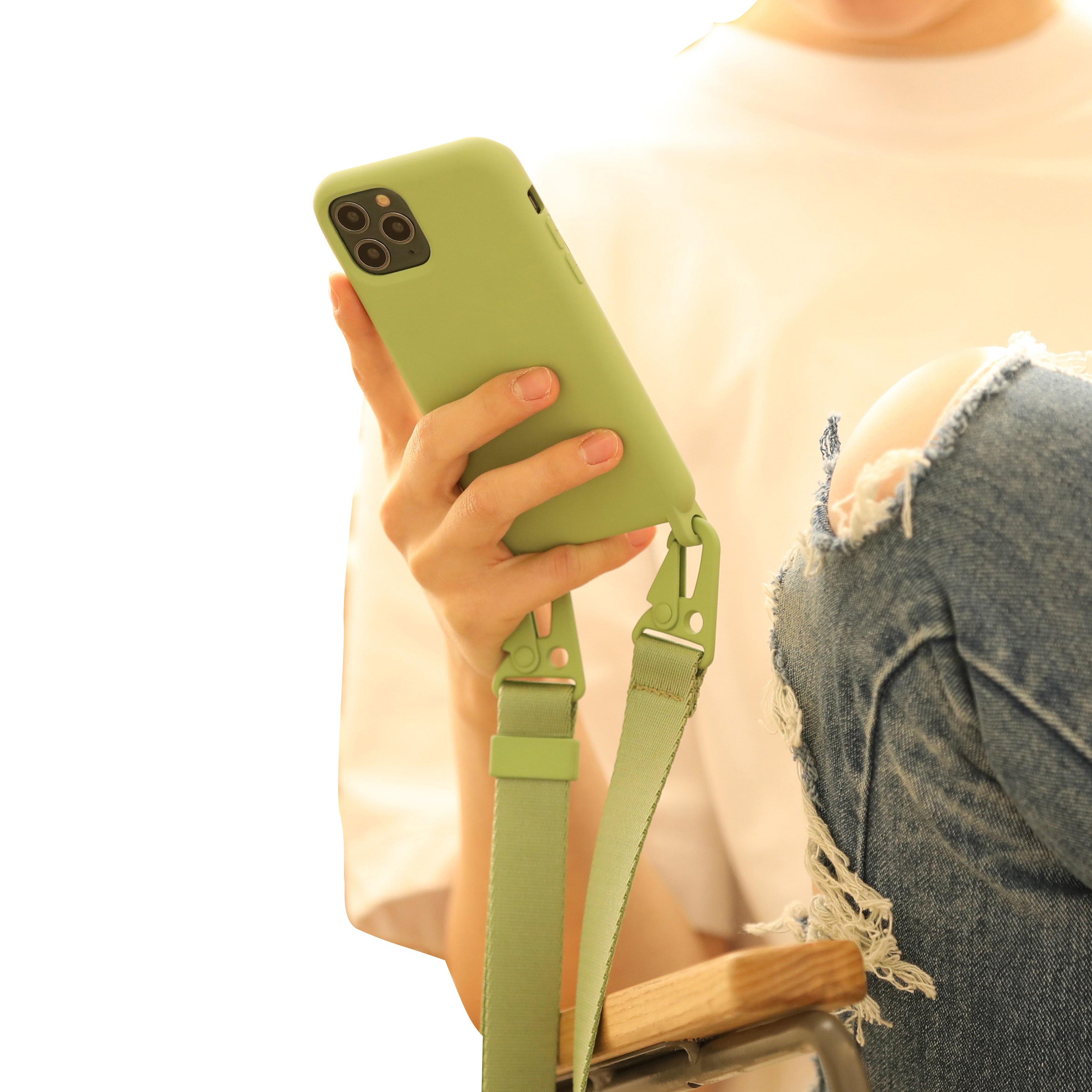 스키누 크로스바디 목걸이 휴대폰 케이스