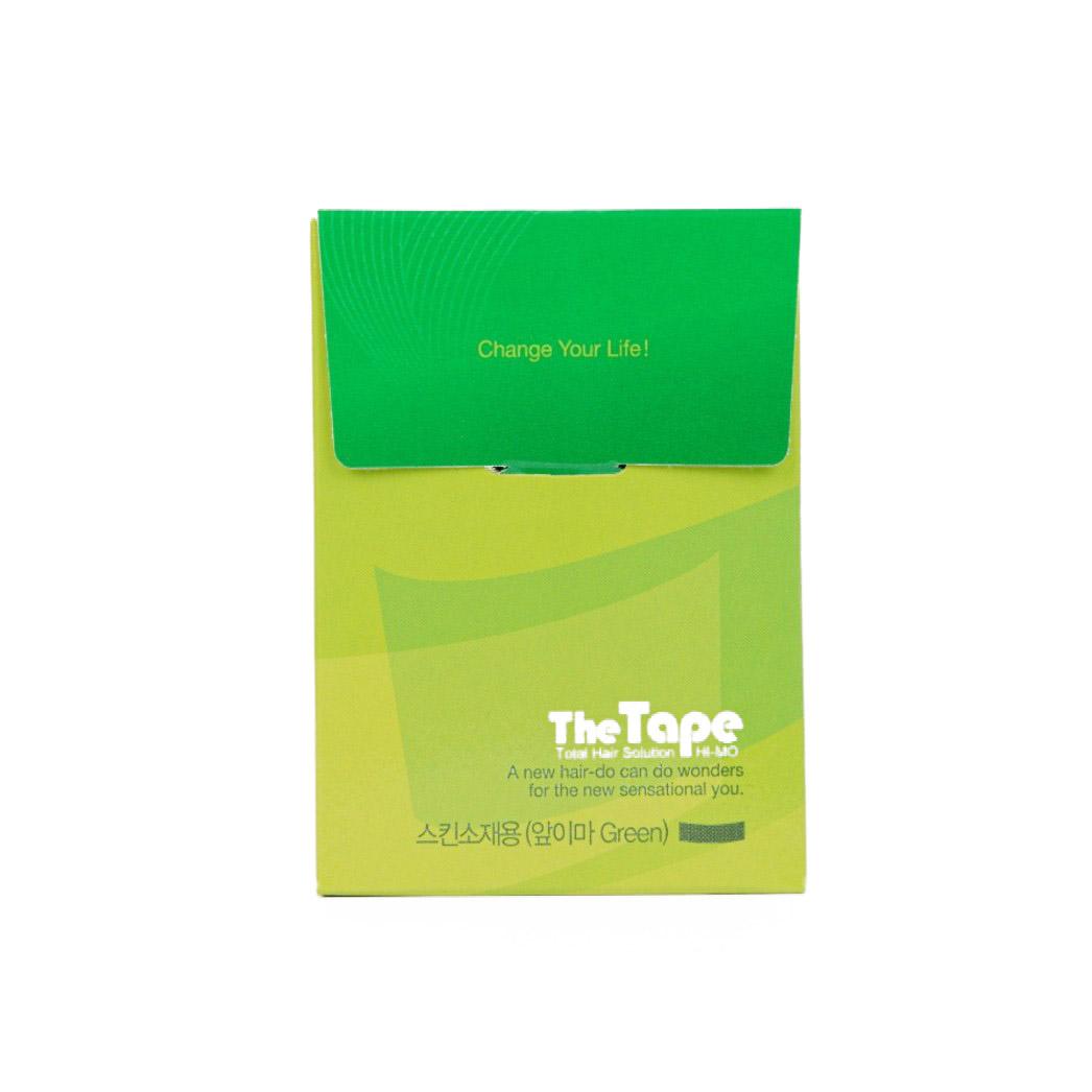 하이모 더 테이프 스킨 소재용 앞이마 가발 테이프 40p, 1개, Green
