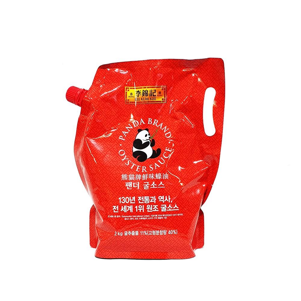 이금기 팬더 굴소스 파우치, 2kg, 1개