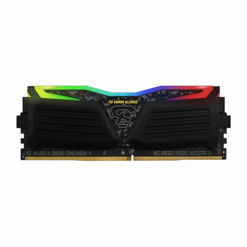 게일 DDR4 PC4-25600 CL16 SUPER LUCE RGB Sync TUF 8GB 램 데스크탑용 GLTS416GB3200C16ADC 2p