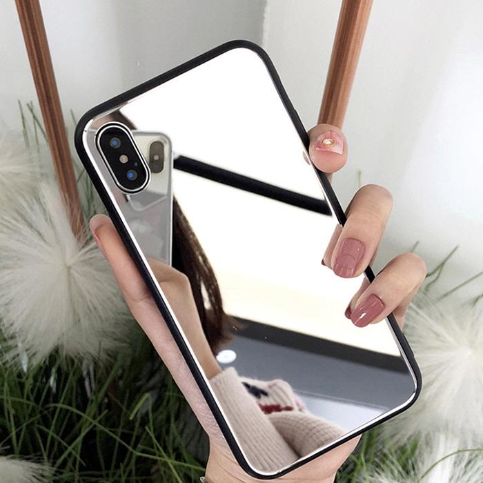 아이폰 고급 미러 하드젤리 휴대폰 케이스