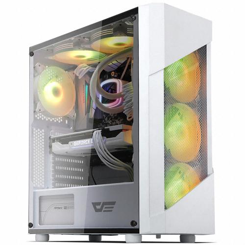 다크프레쉬 AZ PC케이스 POLLUX RGB, POLLUX RGB(화이트)