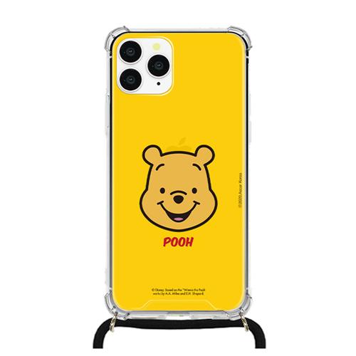 디즈니 곰돌이푸 아머 스트랩 방탄 휴대폰 케이스