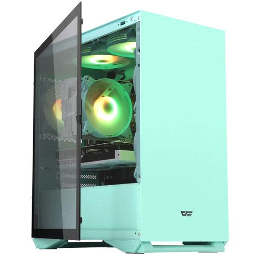 다크프래쉬 AZ RGB 럭셔리 미니타워 PC 케이스 DLM 22 네오 민트