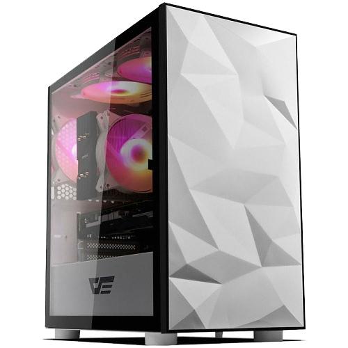 다크프래쉬 AZ RGB 럭셔리 미니타워 PC 케이스 DLM 21 화이트