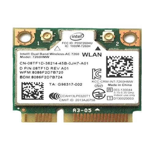 인텔 AC 무선랜카드, 7260HMW