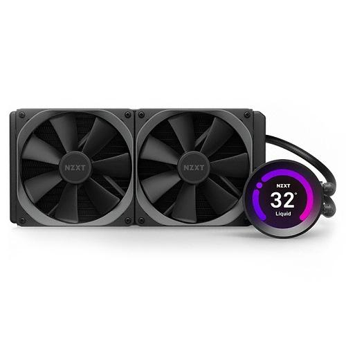 NZXT CPU 쿨러 KRAKEN Z63, RL-KRZ63-01