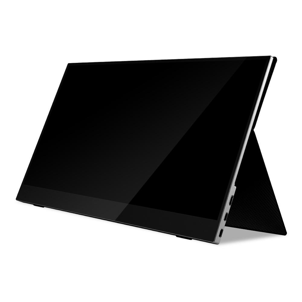 주연테크 40.9cm FHD 캐리뷰144 강화유리 베젤리스 휴대용 터치 포터블 모니터 144Hz, V16FPG