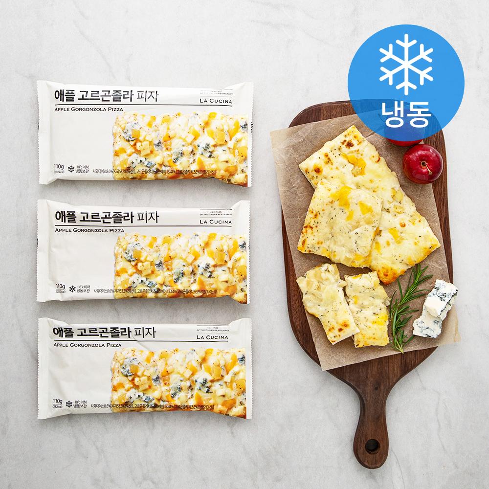 라쿠치나 애플 고르곤졸라 피자 (냉동), 110g, 3개