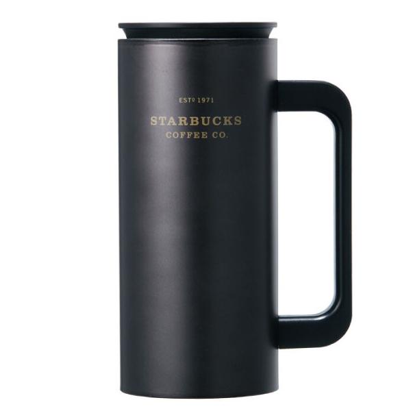 스타벅스 SS 헤리티지 뉴턴 텀블러, 블랙, 355ml
