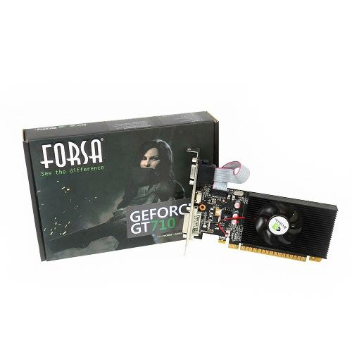 포르사 지포스 GT710 D3 1GB 그래픽 카드, 단일상품