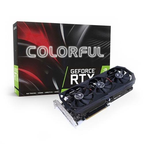 컬러풀 지포스 RTX 2080 SUPER Gaming GT D6 8GB 그래픽 카드, 단일상품