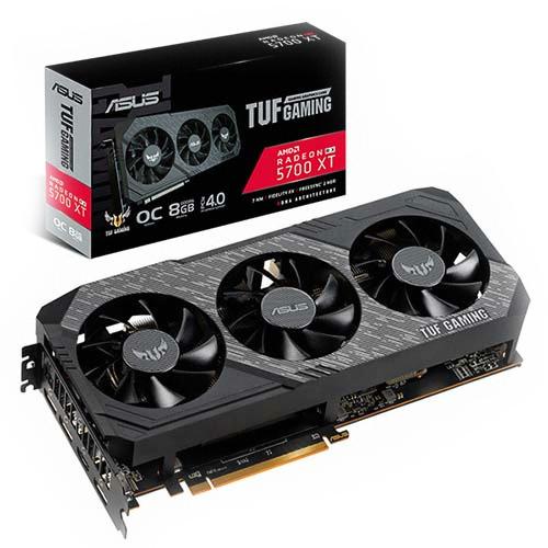 에이수스 TUF 3 Gaming 라데온 RX 5700 XT O8G D6 8GB 그래픽 카드, 단일상품
