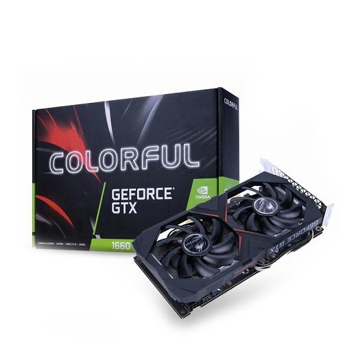 컬러풀 지포스 GTX 1660 Gaming GT D5 6GB 그래픽 카드, 단일상품
