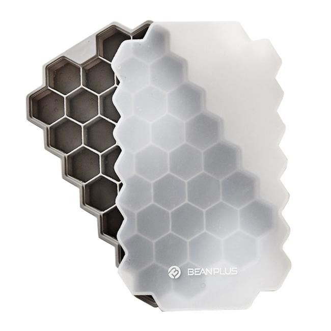빈플러스 실리콘 육각 얼음틀 + 뚜껑
