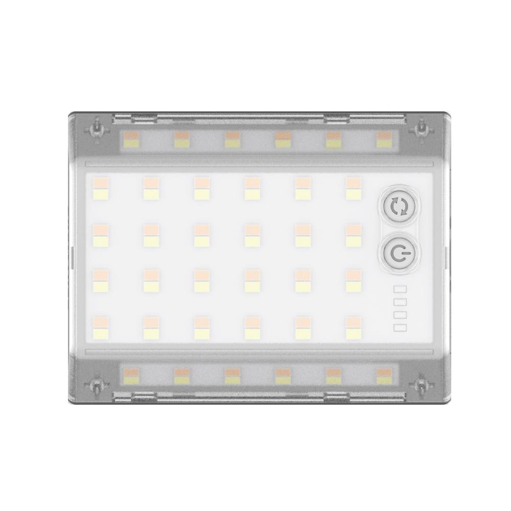 크레모아 3페이스미니 LED캠핑랜턴, 라이트그레이, 1개