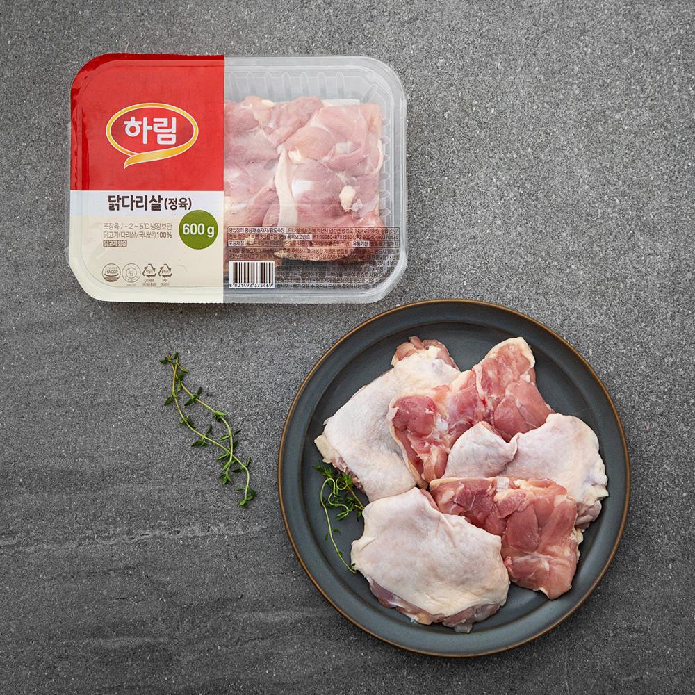 하림 닭다리살 (냉장), 600g, 1팩