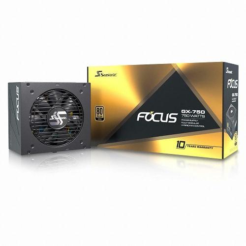 시소닉 FOCUS GOLD GX-750 Full Modular ATX SSR-750FM