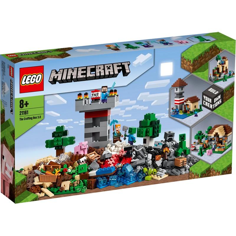 레고 마인크래프트 조합상자 3.0 21161, 혼합색상