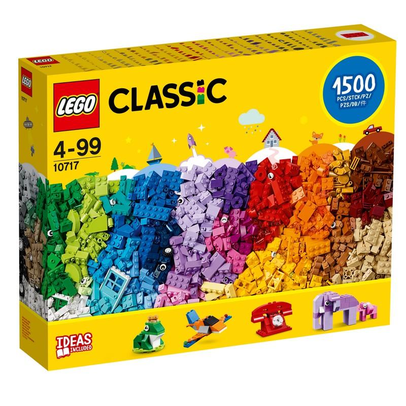레고 클래식 브릭 브릭 브릭 10717, 혼합색상