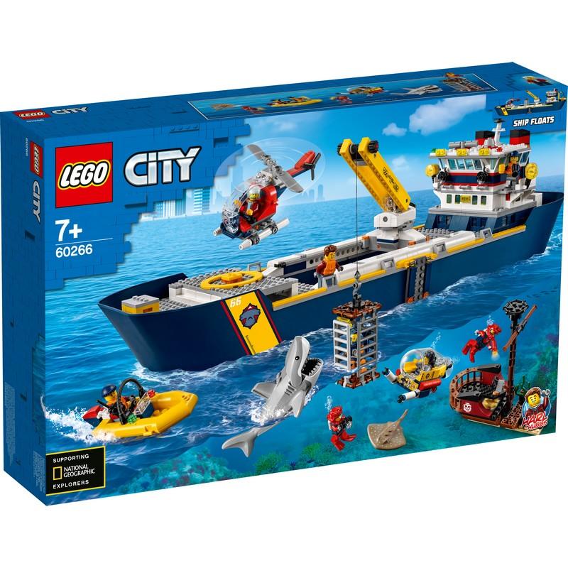 레고 시티 60266 해양 탐사선, 혼합색상