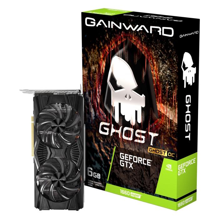 게인워드 지포스 GTX 1660 SUPER 고스트 OC D6 6GB 백플레이트 그래픽카드, 단일상품
