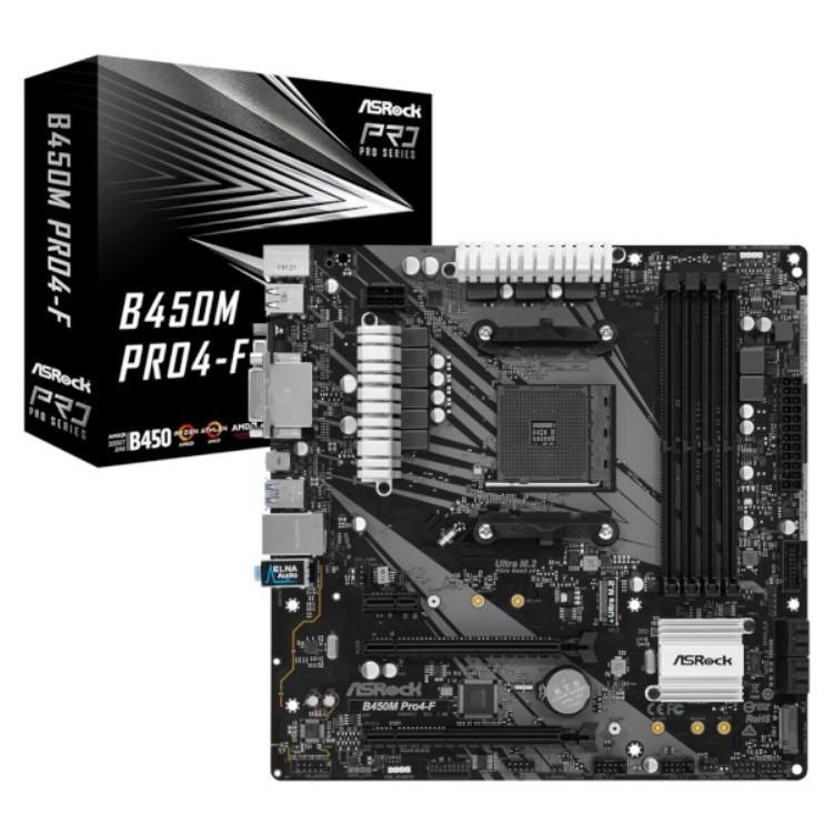ASRock B450M PRO4-F (에즈윈), 단일상품
