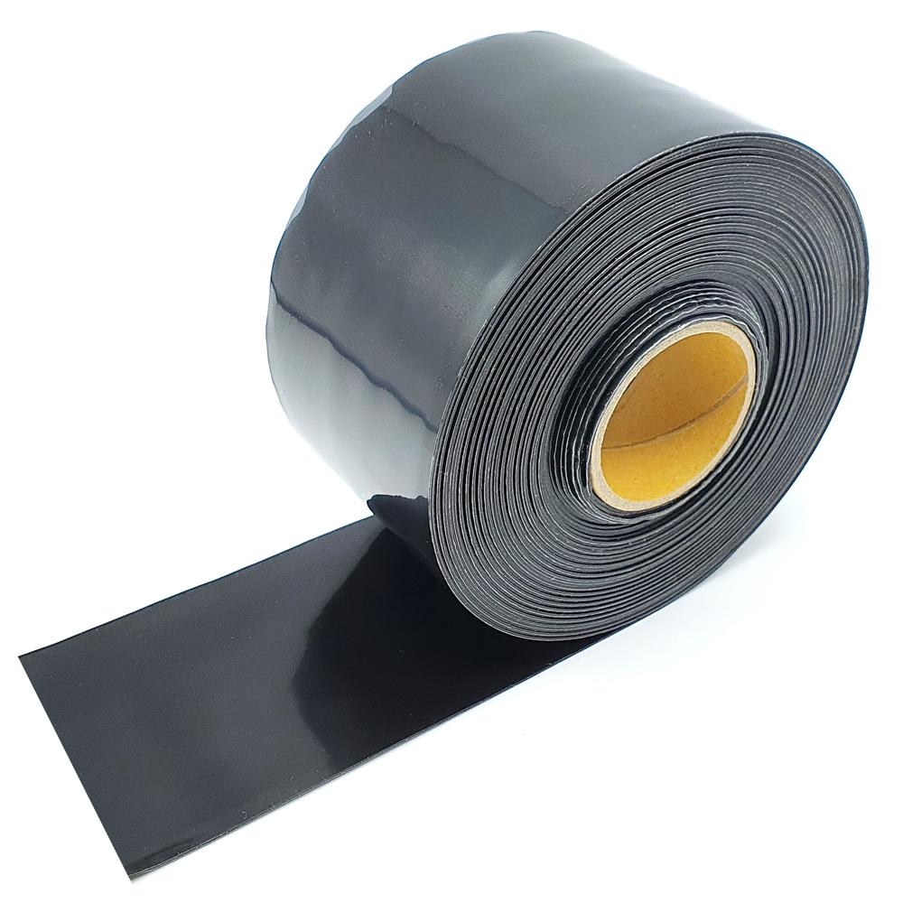 불독 자기융착 실리콘테이프 블랙 50mm x 10m, 1개