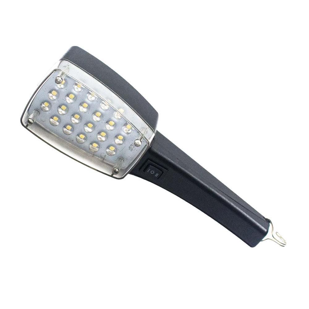 에이케이라온 22구 5핀 LED 충전작업등 RAK-HY220, 1개, Black