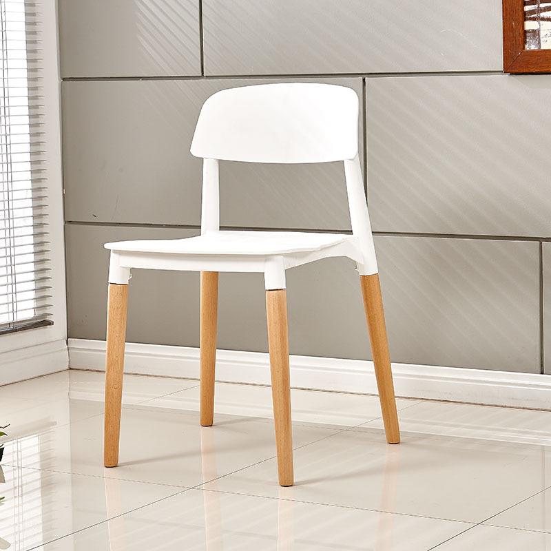 가팡 인테리어 의자 GA005, 화이트
