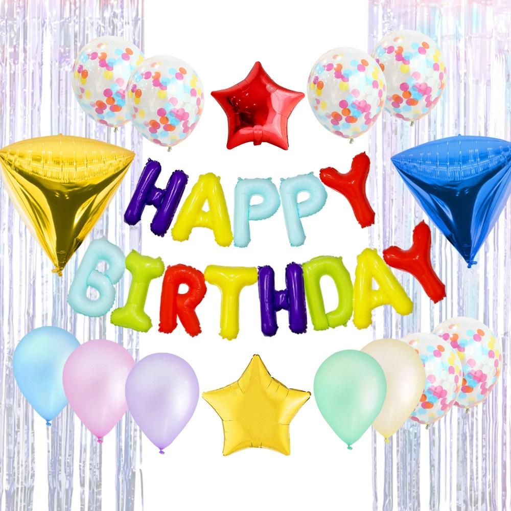 이베이비랜드 생일파티세트 HA, 마카롱, 1세트