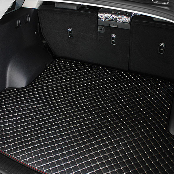 지엠지모터스 차량용 불카누스 트렁크매트 블랙, 쌍용, 티볼리에어