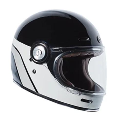 토크 드림라이너 풀페이스 헬멧, 블랙 + 그레이