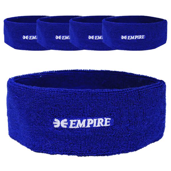 엠파이어 스포츠 헤어밴드 B4H 5p, 블루