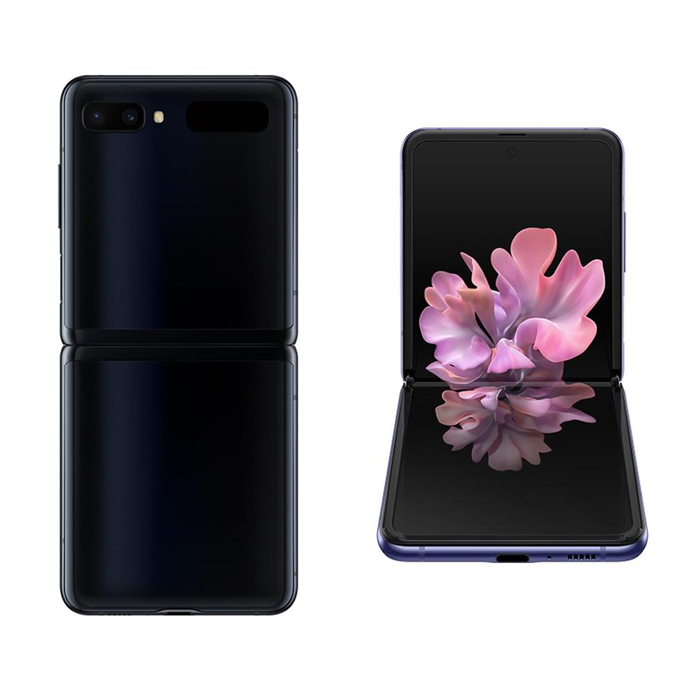 삼성전자 갤럭시 Z플립 휴대폰 SM-F700N, LG U+, 미러 블랙, 256GB