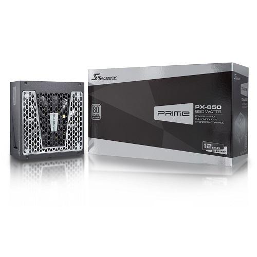 시소닉 PRIME PLATINUM PX-850 Full Modular ATX SSR-850PD Active PFC F3