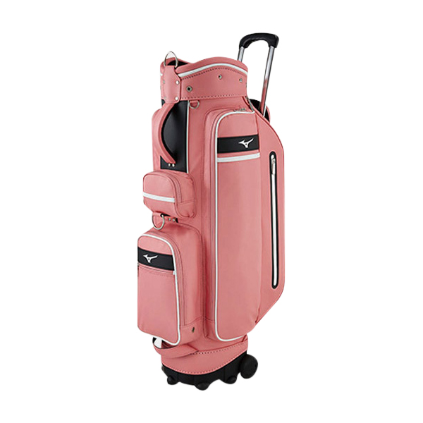 미즈노 어반 휠 바퀴형 캐디백 5LXC191001, 핑크