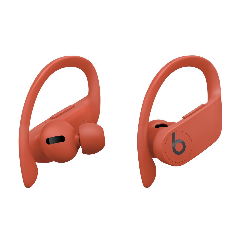 Apple 파워비츠 프로 블루투스 이어폰, MXYA2ZP/A, Lava Red