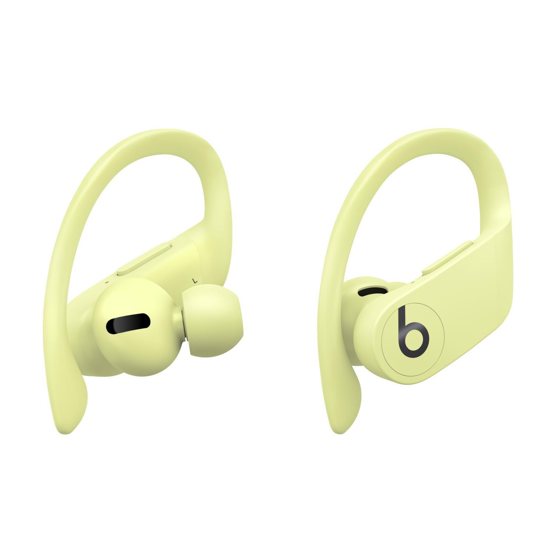 Apple 파워비츠 프로 블루투스 이어폰, MXY92ZP/A, Spring Yellow