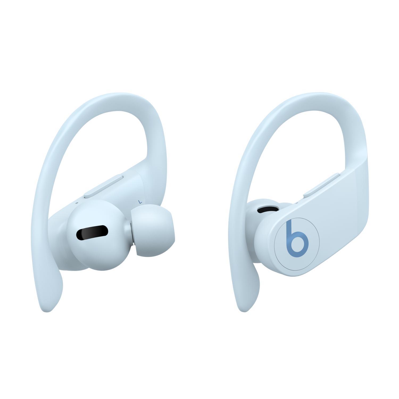 Apple 파워비츠 프로 블루투스 이어폰, MXY82ZP/A, Glacier Blue